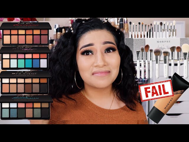NEW DRUGSTORE MAKEUP EYESHADOW PALETTES! + FINALLY USING JH COLLECTION OF BRUSHES! - Alexisjayda