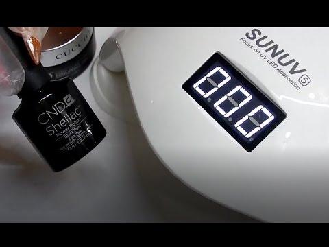 Can The Sun5 Uv Led 48 Watt Lamp Cure Cnd S Shellac