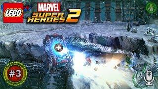 THOR MINDENT VISZ! – Lego Marvel SuperHeroes 2 Végigjátszás Magyarul #3