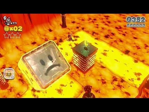 ☐ Super Mario 3D World: Bowser-7 Grumblump Inferno (100 % All Stars & Stamp) HD Gameplay Walkthrough