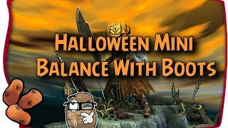 Guild Wars 2 - Halloween Legitimately Mini Balance With Boots