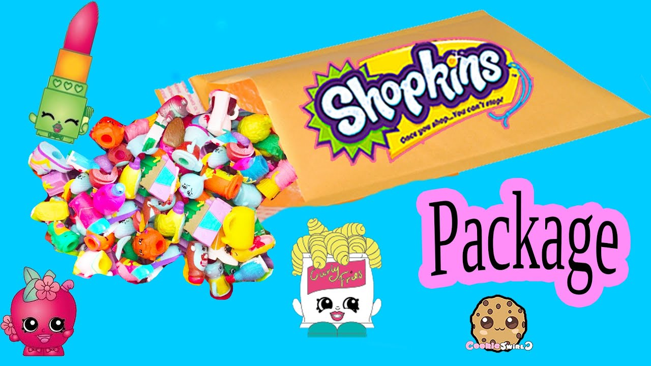 Random Ebay Package Lot Of 10 Shopkins Season With Exclusives  Toy  Unboxing Video Cookieswirlc