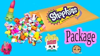 Random Ebay Package Lot of 10 Shopkins Season with Exclusives - Toy Unboxing Video Cookieswirlc