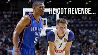 When A 17 Year Old Luka Doncic Had To Guard MVP Westbrook