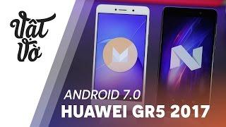 Vật Vờ| Có gì mới trên Android 7.0 Huawei GR5 2017(Android 7.0 cũng đã cập nhật dành cho mẫu smartphone tầm trung, Huawei GR5 2017 với nhiều tính năng, thay đổi về giao diện. Hãy cùng so sánh có gì cải ..., 2017-03-09T13:00:06.000Z)