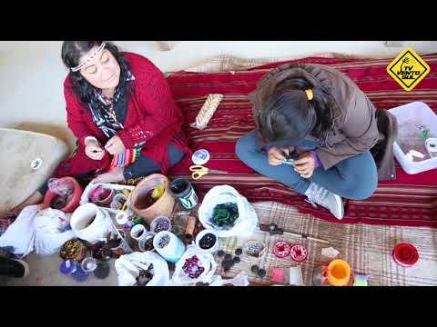 Vivência com as mulheres Guarani - Oficina de artesanato - aldeia Yynn Morotim Wherá - Biguaçú/ SC