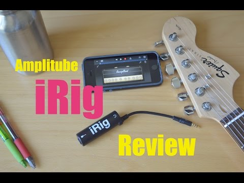 AmpliTube iRig Review - Cheap Quiet Guitar Practice!