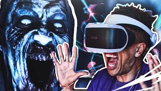 the most virtually terrifying game ever until dawn rush of blood psvr