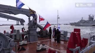 Передача корабля  Александр Обухов  ВМФ