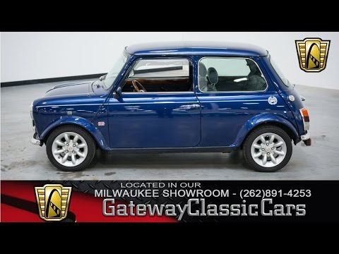 Now Featured in our Milwaukee SHowroom: 1967 Austin Mini Blue Star #161-MWK