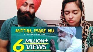 Sikh Couple Reacts to Mittar Pyare Nu : Shabd I Gurdas Maan   PunjabiReel TV