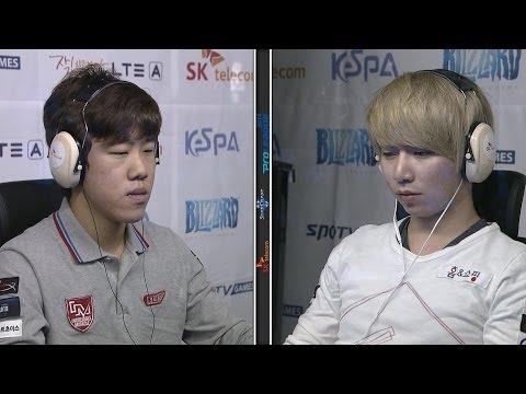 [SPL2014] ByuL(IM) vs MarineKing(PRIME) Set5 King Sejong Station  -EsportsTV, SPL2014