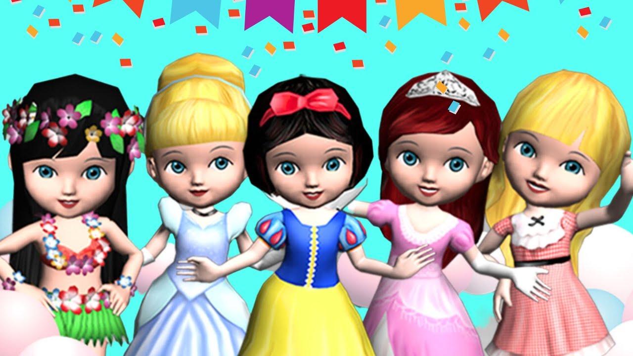 Permainan Anak Perempuan Boneka Berdandan Kids Games | Ava