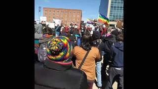 St  Louis Residents Hold Solidarity Rally for Transgender Community