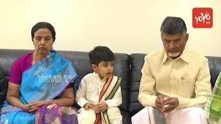 Chandrababu Naidu Grandson Devansh Blessed by T...