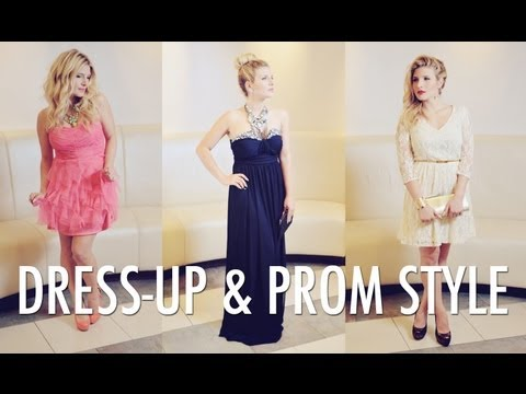 Unique Dress-up and Prom Style with Macy