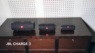 Jbl Xtreme vs Jbl Charge 3 vs Jbl Flip 3  Soundcheck