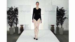 Tightsplease - Jonathan Aston Sweet Roses Lace Tights Catwalk