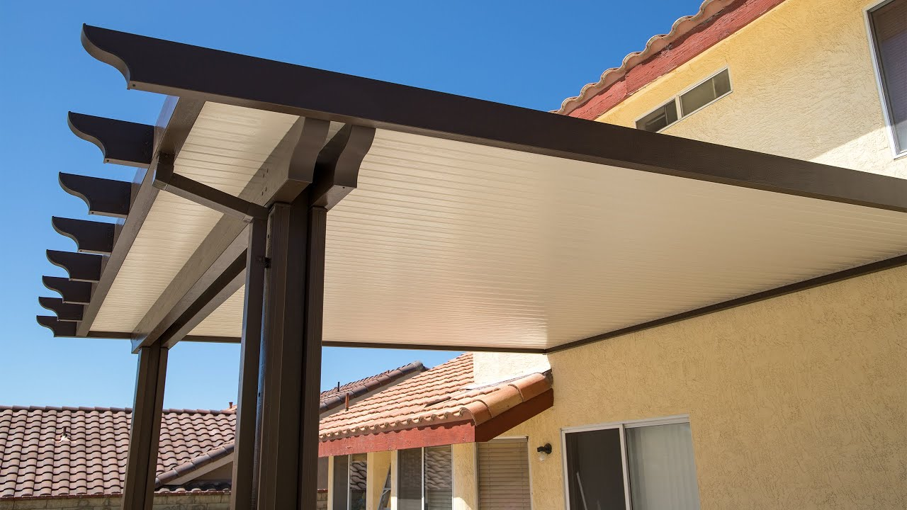 Aluminum Non Insulated Patio Cover Los Angeles Thousand Oaks Youtube