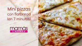 Baixar Mini pizzas de flat bread listas en 7 minutos