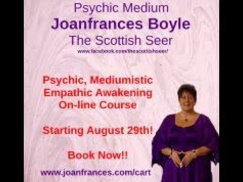 Psychic, Mediumistic, Empathic Awakening - On-line Course