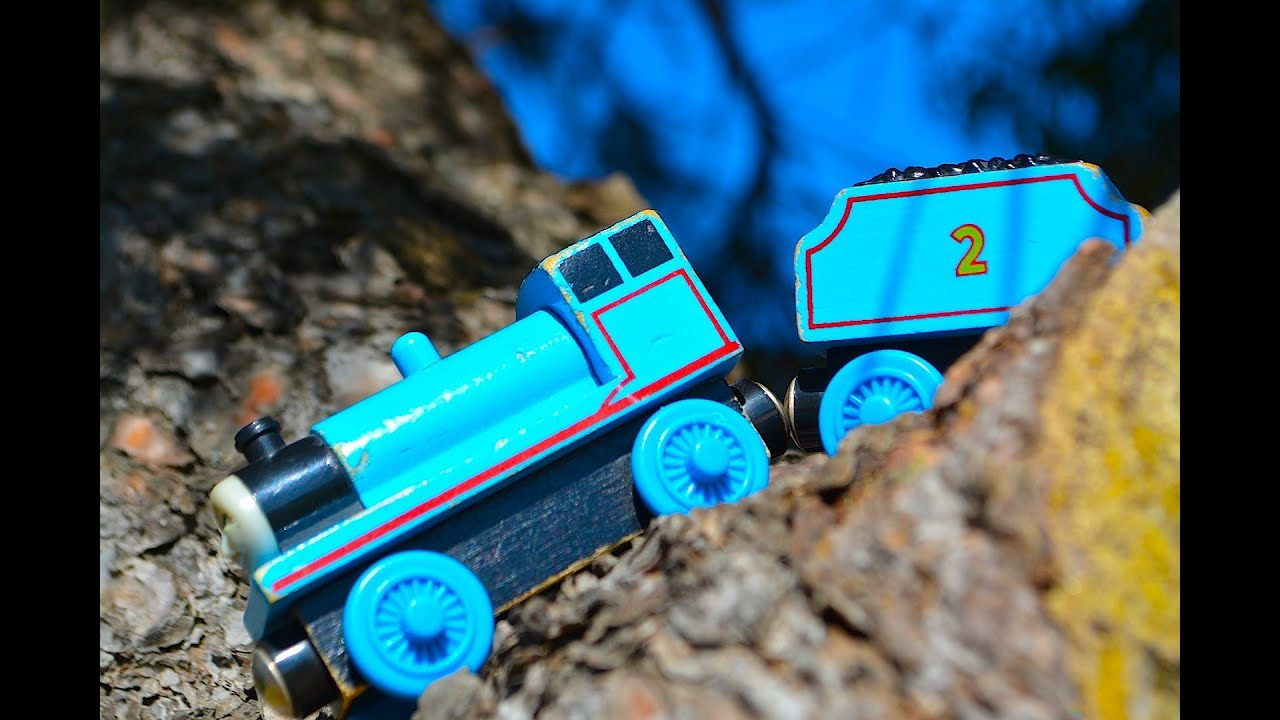 Thomas The Tank Engine Character Fridays Edward A Wooden Railway Toy Train Review