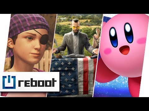 Far Cry 5, Gewalt in Videospielen, Kirby Star Allies, Life is Strange - Farewell | reboot #02