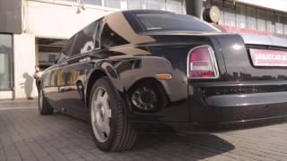 Автомобиль на свадьбу Rolls-Royce / Роллс Ройс Фантом черный