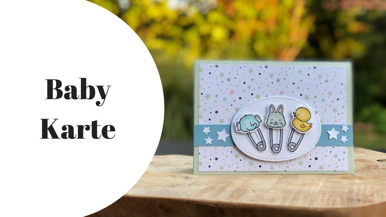 Anleitung Babykarte Karte Zur Geburt Mit Stampin Up Basteln