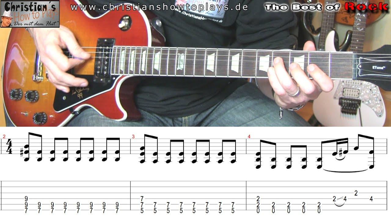 Best Of Rock Him Wicked Game Gitarren Tutorial Lesson Tabs Chords