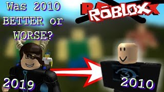 Was 2010 ROBLOX Really That Good?
