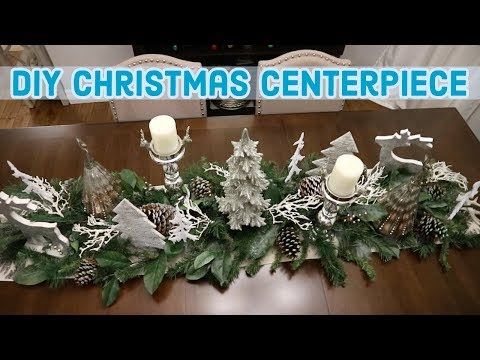 DIY CHRISTMAS CENTERPIECE CHALLENGE