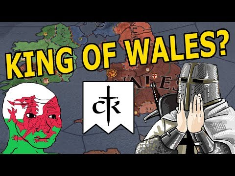 KING OF WALES FOR CK3?- CK2 MONARCHS JOURNEY CHALLENGE RUN!