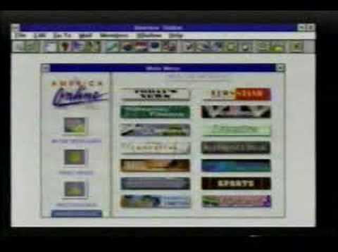 AOL TV Ad from 1995