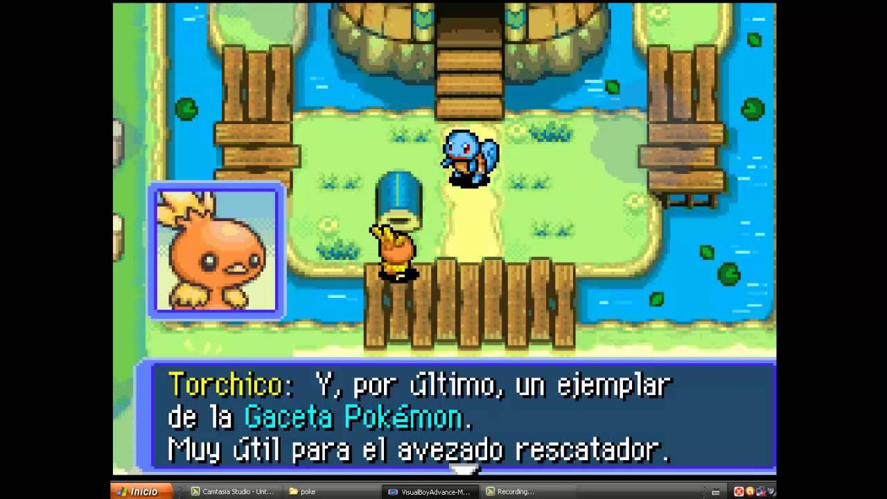 descargar pokemon mundo misterioso exploradores del cielo rom español