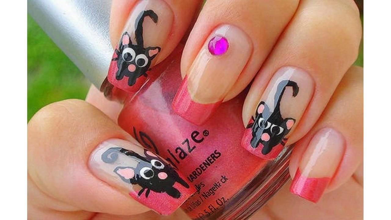 uas decoradas con gatitos faciles faciles y bonitas