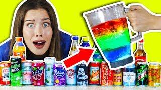 20 IRRE SOFT DRINKS in 1 GETRÄNK MISCHEN & TRINKEN! 🍹😵 Experiment!