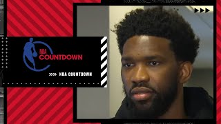 As a team, we got closer - Joel Embiid on the Ben Simmons situation   NBA Countdown