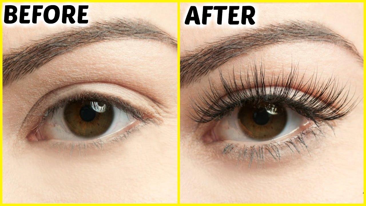 How To Grow Long Eyelashes FAST | PrettyPriyaTV - YouTube