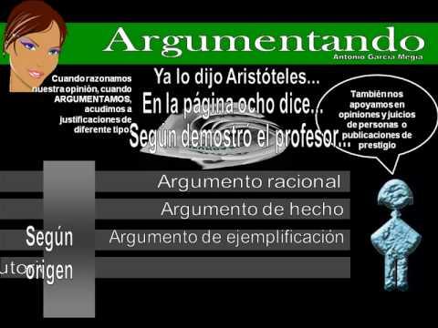 La argumentación de YouTube · Duración:  6 minutos 10 segundos  · Más de 64.000 vistas · cargado el 24.02.2010 · cargado por Antonio García Megía