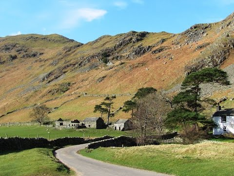 Lake District country Walk   Martindale to Wether Hill on High Street (Roman Road) round