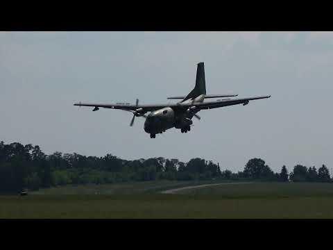 Stunning Maneuver | Transall C-160 Sarajevo Approach at ILA Berlin Air Show 2016 in 4K