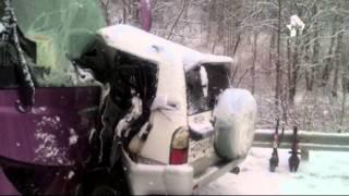 Три человека погибли в страшном ДТП под Южно Сахалинском