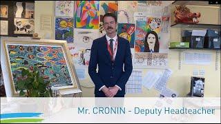 Transition | Deputy Headteacher - Mr Cronin