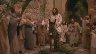 Jesus triumphant entry into Jerusalem [Palm Sunday]