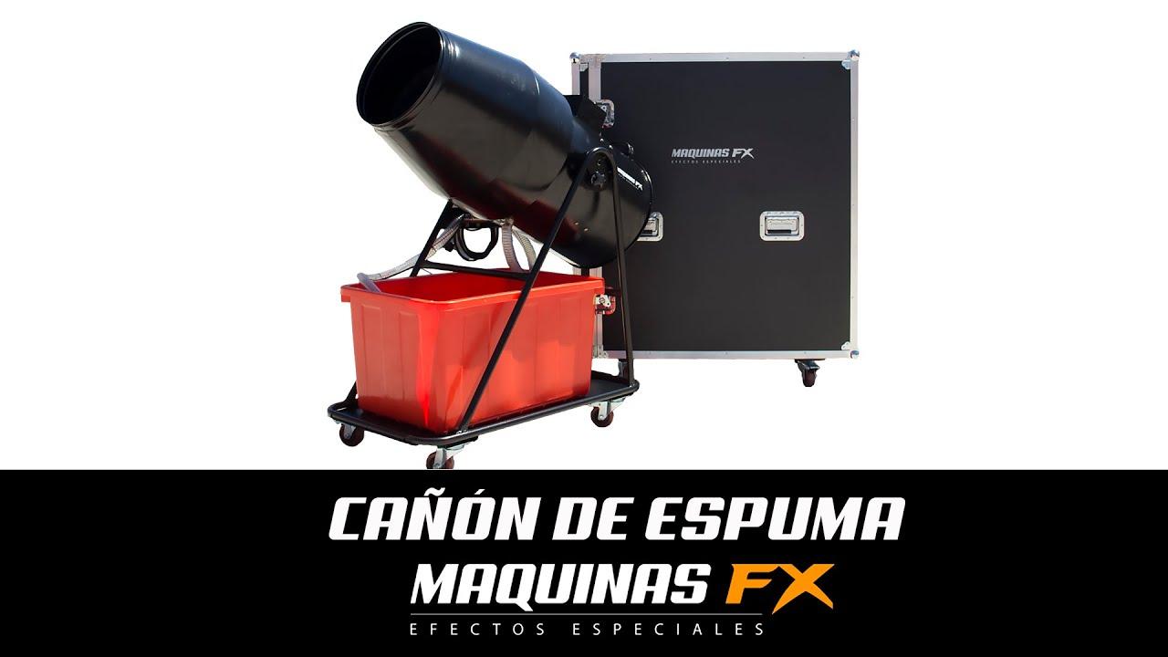 Cañón de Espuma // Maquinas FX