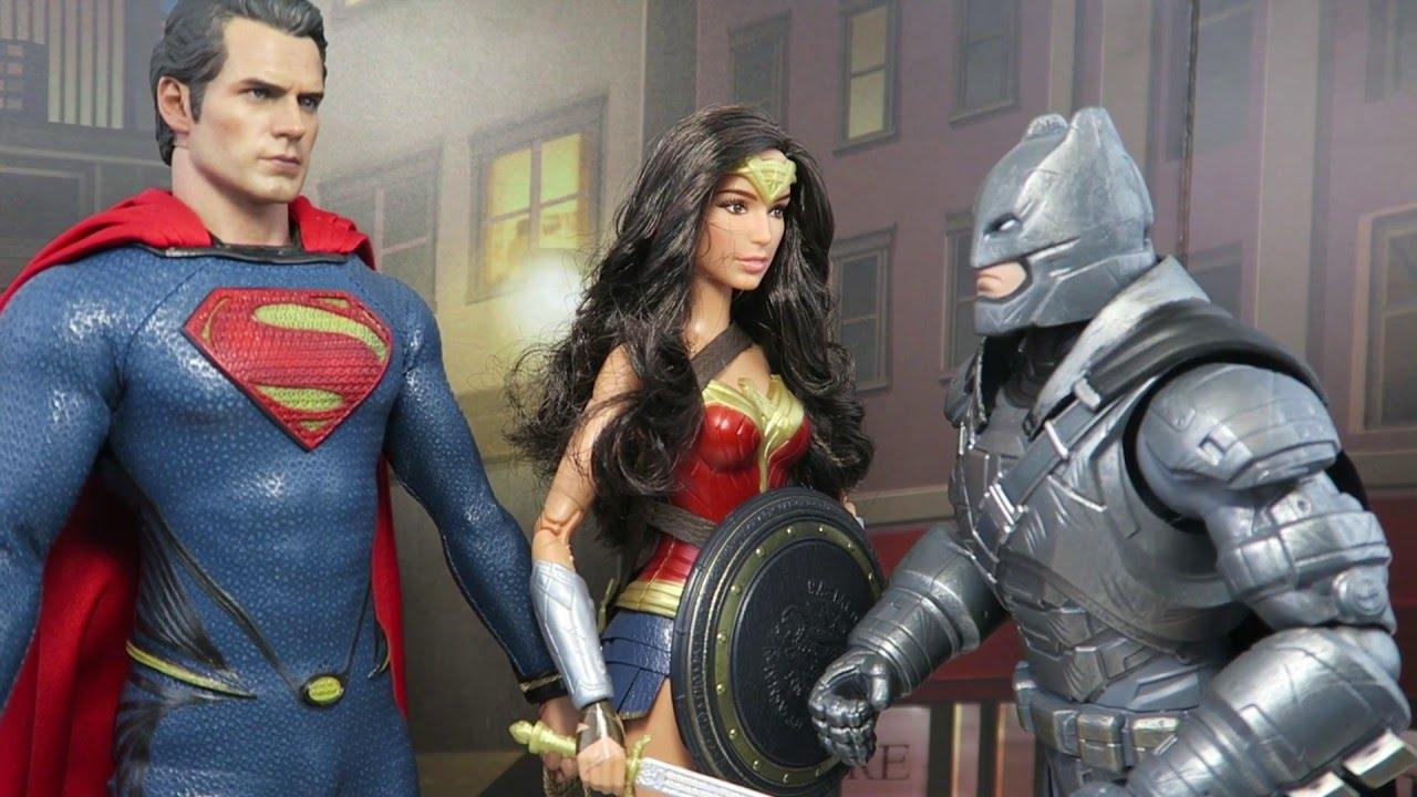 Wonder Woman Barbie Is A Hot Toy Batman V Superman Parody Youtube