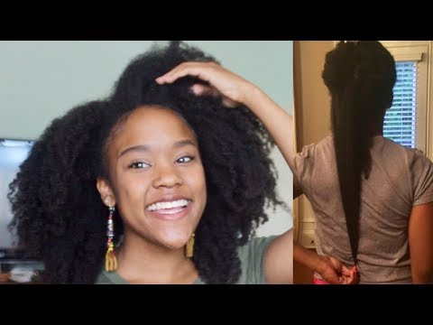 7 Length Retention Tips for Type 4 Natural Hair | Unlock your length with these tips!