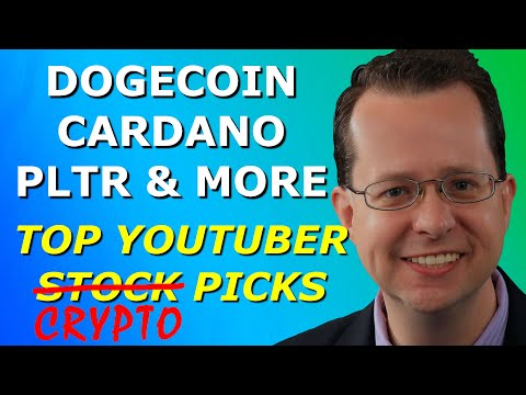 PLTR + THE BEST CRYPTOCURRENCIES TO BUY NOW – Top 10 YouTuber Stock Picks for Monday, May 9, 2021