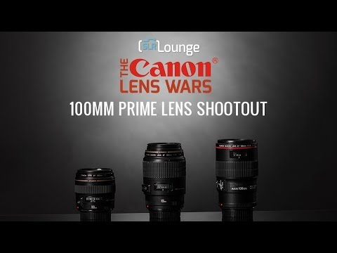 Best Canon 100mm Primes Lenses? - The SLR Lounge Canon Lens Wars Episode 13